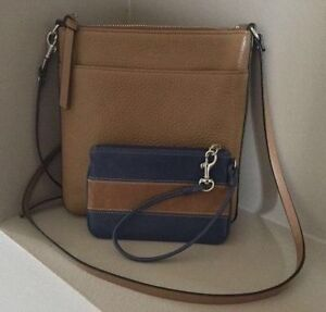 Authentic Coach Crossbody With Wristlet!