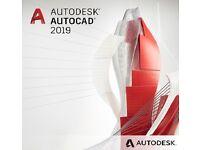 Autodesk Autocad 2019 Windows License & Training Videos (3 Year Term)