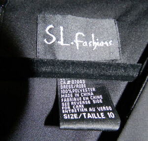 S.L. Fashions Size 10 Dress Windsor Region Ontario image 2
