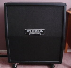 """Mint Mesa Boogie Recto 4x12"""" O/S Cab Loaded with Celestion V30's"""