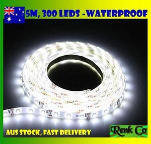 Waterproof-Flexible-Cool-White-DC-12V-5M-3528-SMD-300-Leds-LED-Strip-Light-Car