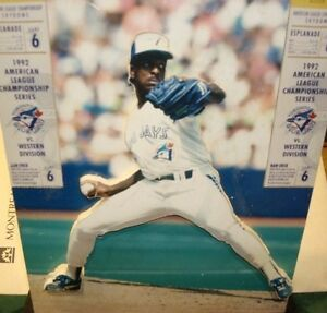 '93 BLUE JAY PITCHER JUAN GUZMAN  PLEXIGLASS 3-D KEEPSAKE: $45