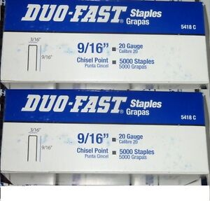 Lot of 10000 Duo-Fast 5418C 9/16
