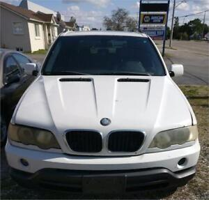 """2002 BMW X5 SERIES AWD 4.4i SUV SOLD """"AS IS"""" FOR $1495+HST TAX!!"""