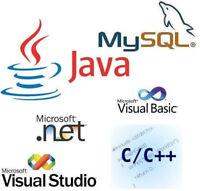 Programmeur WEB et logiciel C#, C/C++, Java, .Net, SQL, MySQL...