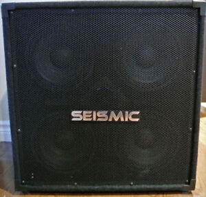Seismic Audio-4x8 Bass Guitar Speaker Cabinet PA DJ 500 Watts