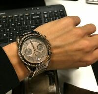 REDUCED METALLIC BROWNV AUTHENTIC MICHAEL KORS WATCH FOR CHEAP!