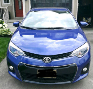 2016 Toyota Corolla S Lease Takeover