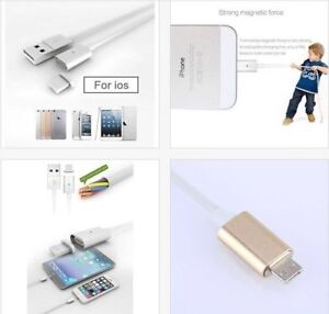 iPhone/iPad Magnetic USB charging cable