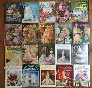 Collection of 20 Vintage WILTON CAKE DECORATING BOOKS $50