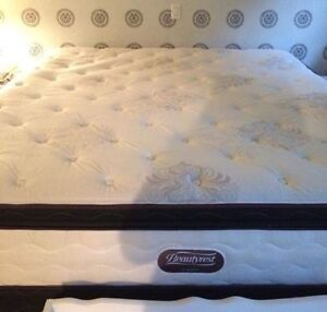 King size Beautyrest firm mattress one year old
