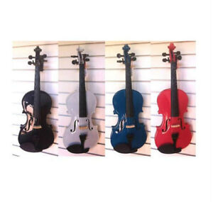 Brand New! Color Violin 4/4 full size