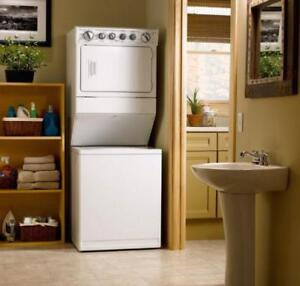 STACKABLE WASHER & DRYER LAUNDRY CENTRE VERY CHEAP STORE SUMMER SALE