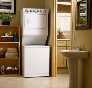 STACKABLE WASHER & DRYER 1 YEAR WARRANTY FREE EXPRESS SHIPMENT
