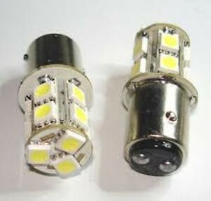 2x 1157 LED bulbs - NEW