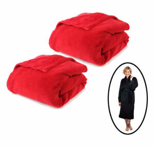 Pack of 2 Blankets HomeSuite with 1 Robe - NEW!!