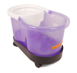 Spin mop - Hurricane 360° - Bucket and dolly - NEW