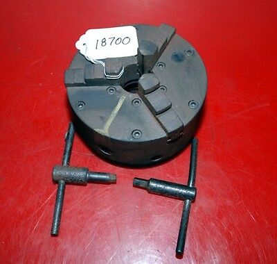 3 Jaw Buck Chuck 6 2-14 Inche 8 Threaded Mount For South Bend Inv.18700