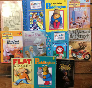 Group of 11 CHILDREN'S CHAPTER BOOKS $10