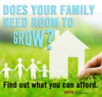 Get a mortgage pre-approval before you start shopping.