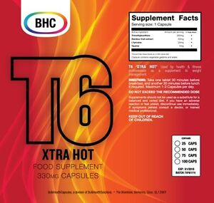 25 T6 FAT BURNERS strong fast DIET/SLIMMING weight loss pills for men/women BHC