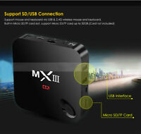 MX3 Android Tv Box - CANADA WEEK SPECIAL $140 - Kodi 14.2 LOADED