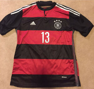 Thomas Muller Germany soccer jersey XL