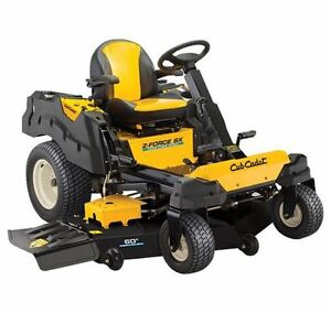 2016 Cub Cadet Z-FORCE SX 60 Lawn Mower Stratford Kitchener Area image 1