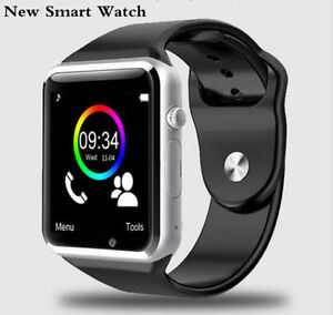 New Smart Watch Camera SIM SD Card Smart Phone Bluetooth