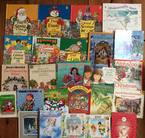CHRISTMAS PICTURE BOOKS $2 each or all 25 for $20