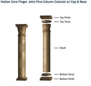 Wood Columns and Pillars