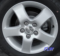 four toyota factory alloy wheels 5x 114.3 bolt with michelin