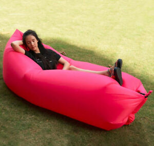 "BRAND NEW ""Air Lazy bag"" inflatable loungers chair bed mattress Edmonton Edmonton Area image 2"