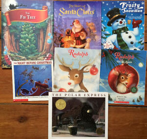 CLASSIC CHRISTMAS PICTURE BOOKS $3 each or all 7 for $15