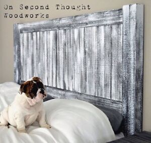 Headboards and Night Stands from On Second Thought Woodworks