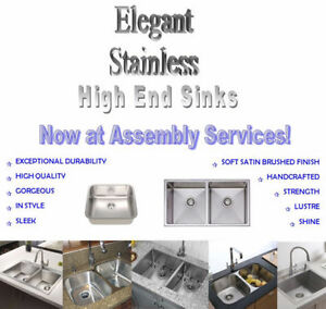 SAVE**ELEGANT STAINLESS SINKS**SAVE
