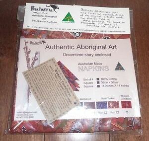 4 NEW in package Australian made napkins Kitchener / Waterloo Kitchener Area image 1