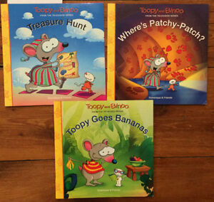 TOOPY AND BINOO books 3 for $10