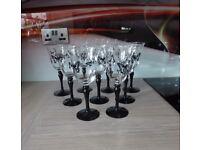 9 x Wine Glasses