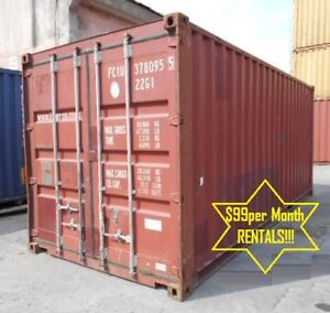 Steel Storage Containers / Steel Shipping Containers