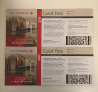 Air Canada Maple Leaf Lounge Passes - 4 avaialble