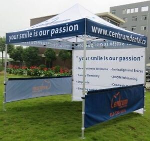 CUSTOM CANOPY TENTS, FLAGS, TABLE COVERS, INFLATABLES Peterborough Peterborough Area image 7