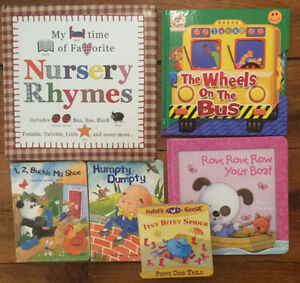 NURSERY RHYMES board books! $2 each or all 6 for $10 London Ontario image 1