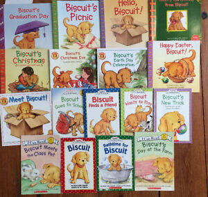 BISCUIT books $2 each or 17 for $25