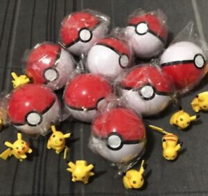 1 Pikachu & Pokemon ball for 10$ a set