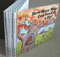 """MAGIC CASTLE READERS =  """"A CHILD'S WORLD"""" = 8 Hardcovers"""