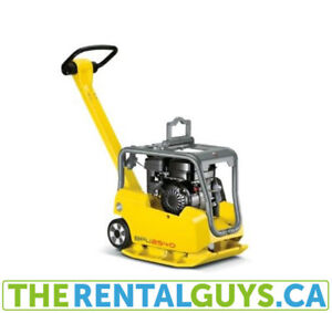 Vibrating Plate Compactor Rental Free Delivery & Pickup Guelph