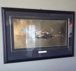 Spitfire plane by Barrie Clark- WW2 Reduced!