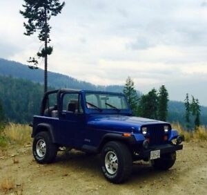 1995 Jeep !Low Mileage!