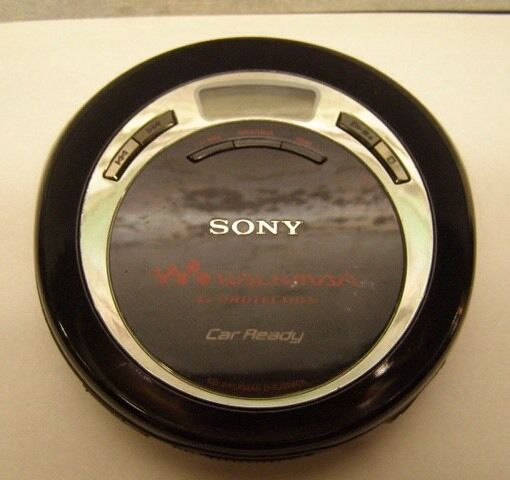 SONY WALKMAN CD Player CAR READY MODEL D-EJ626CK - Not Working/For Parts